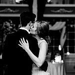 B&W First Dance Tender Kiss-798