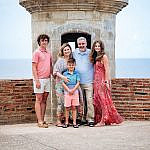 Family Photography at the San Cristo Fort