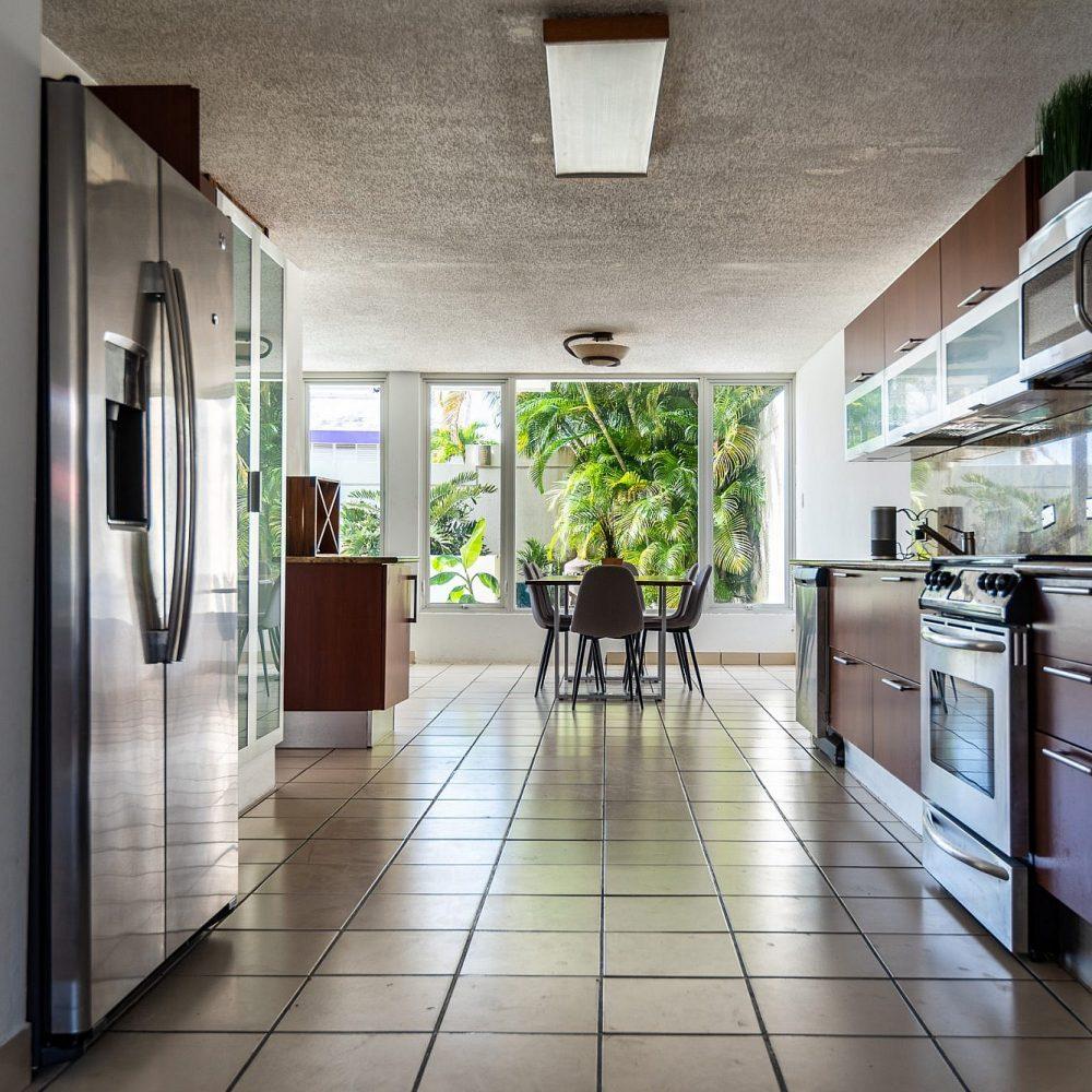 Puerto Rico Isla Verde AirBnB Kitchen