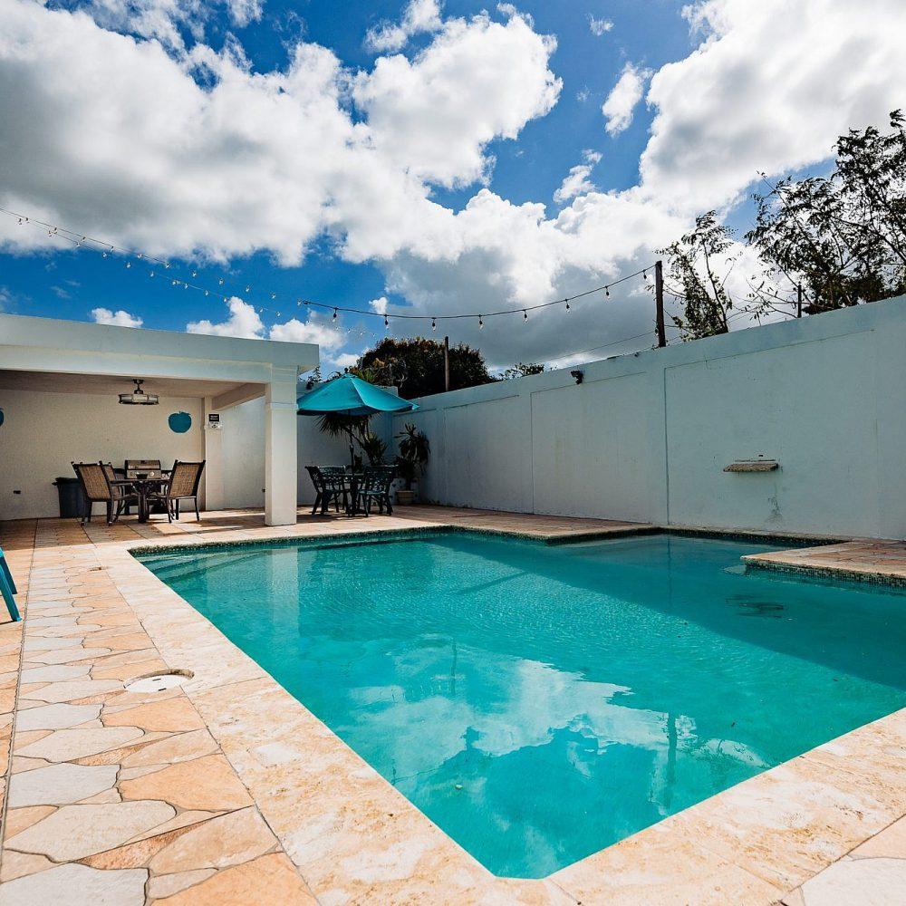 Puerto Rico Real Estate Photography Dos Palmas Pool